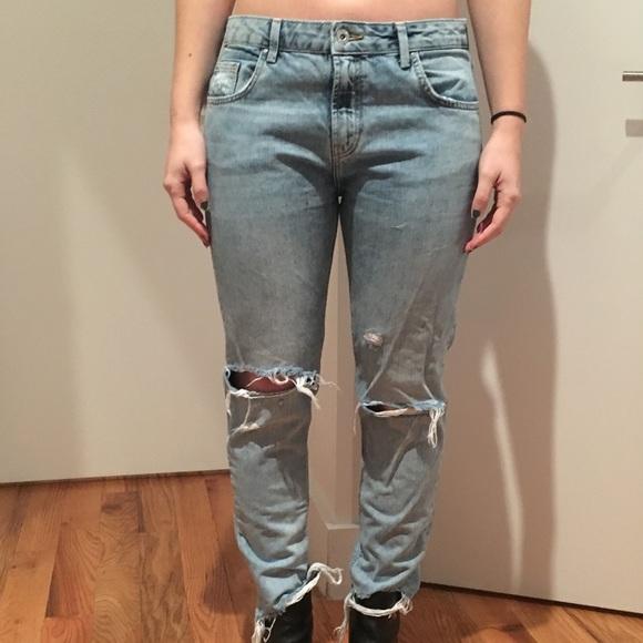 feca3727 Zara Trafaluc girlfriend jeans, size 4 (Euro 36). M_5aaca2db2c705d36e659ae7e